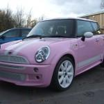 Holder Mini cooper Pink 022