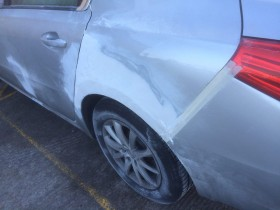 Peugeot Accident Damaged