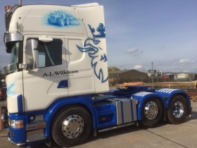 A.L.W Farming Scania – Autocolour Services, Tewkesbury